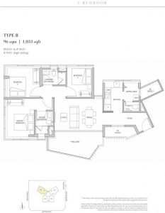 One-Meyer-East-Coast-floorplan-3-bedroom-type-B