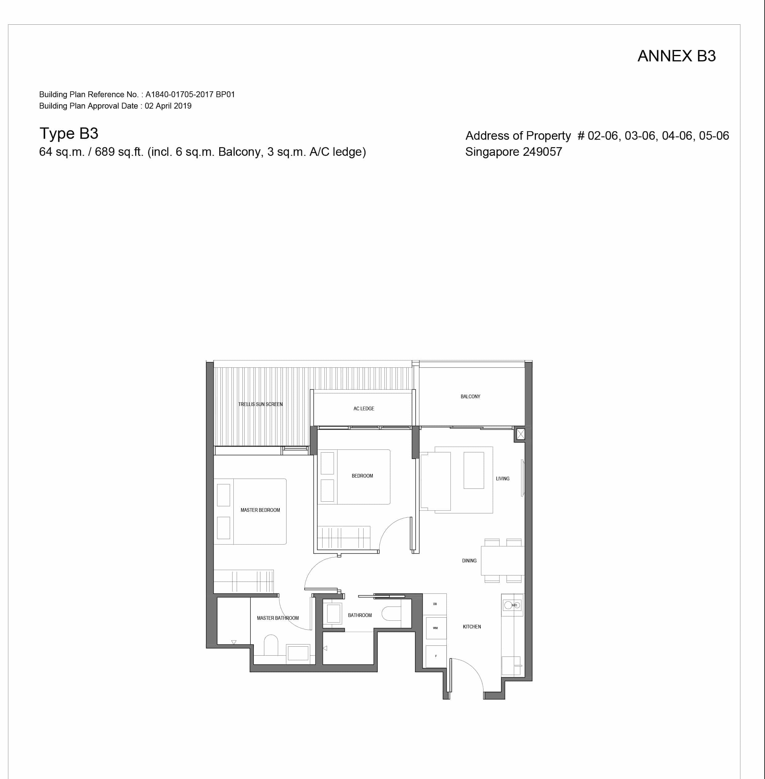 Jervois-Prive-Condo-Floorplan-